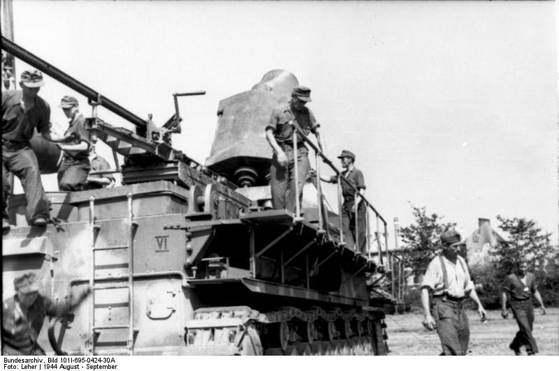 Warschauer Aufstand, Mцrser Karl