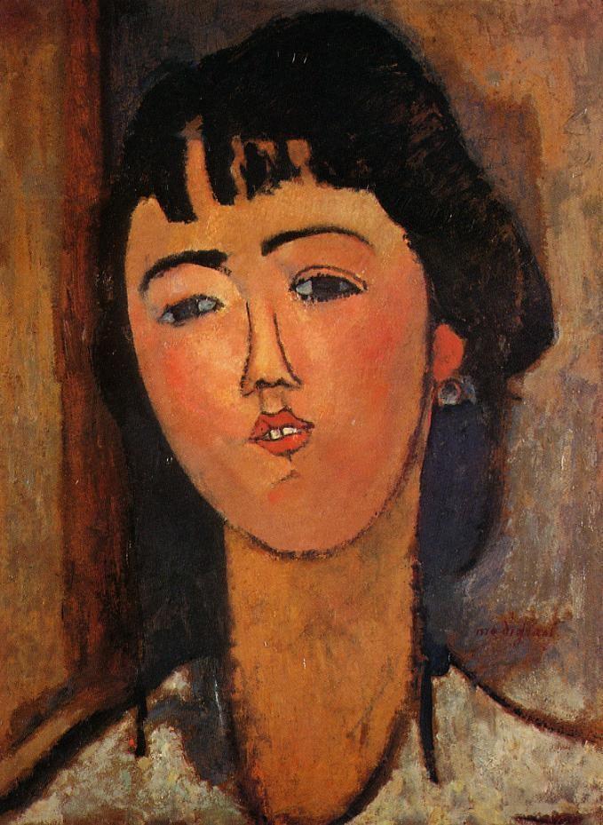 Модильяни Амедео, Портрет женщины, 1915