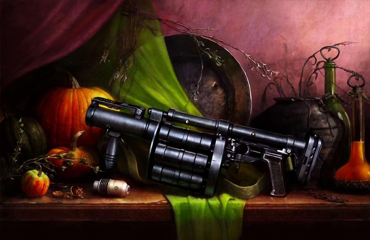 Оружейный натюрморт от студии Geliografic (10)