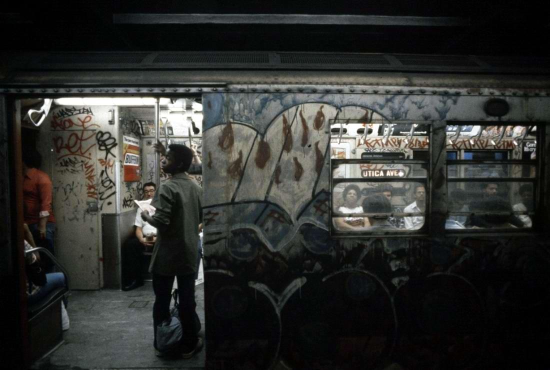 Американский фотограф Christopher Morris: Граффити и андеграунд нью-йоркского метро (3)