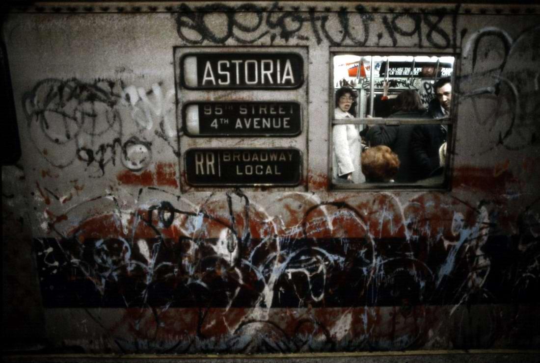 Американский фотограф Christopher Morris: Граффити и андеграунд нью-йоркского метро (30)