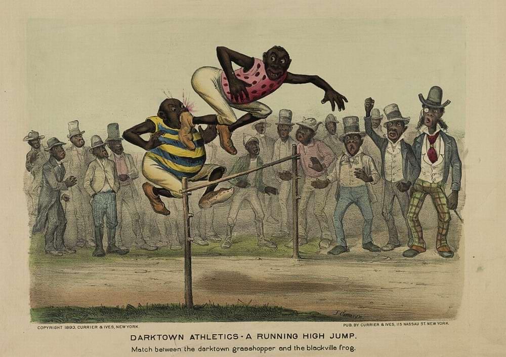 Дарктаунские легкоатлеты - бег с препятствиями