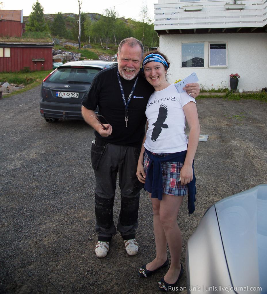 Путешествие на машине по Норвегии