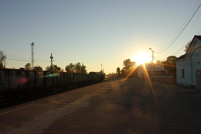 Станция Ржев-Балтийский