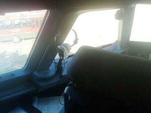 У самолета авиакомпании «Авроры» во время полета лопнуло стекло в кабине пилотов