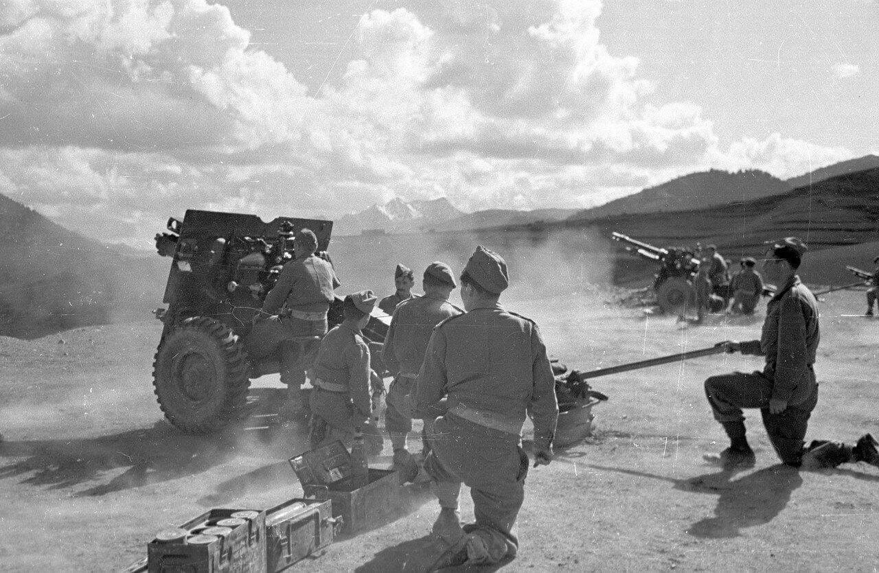 1948. Греческая армия открывает огонь по повстанцам 22 мая