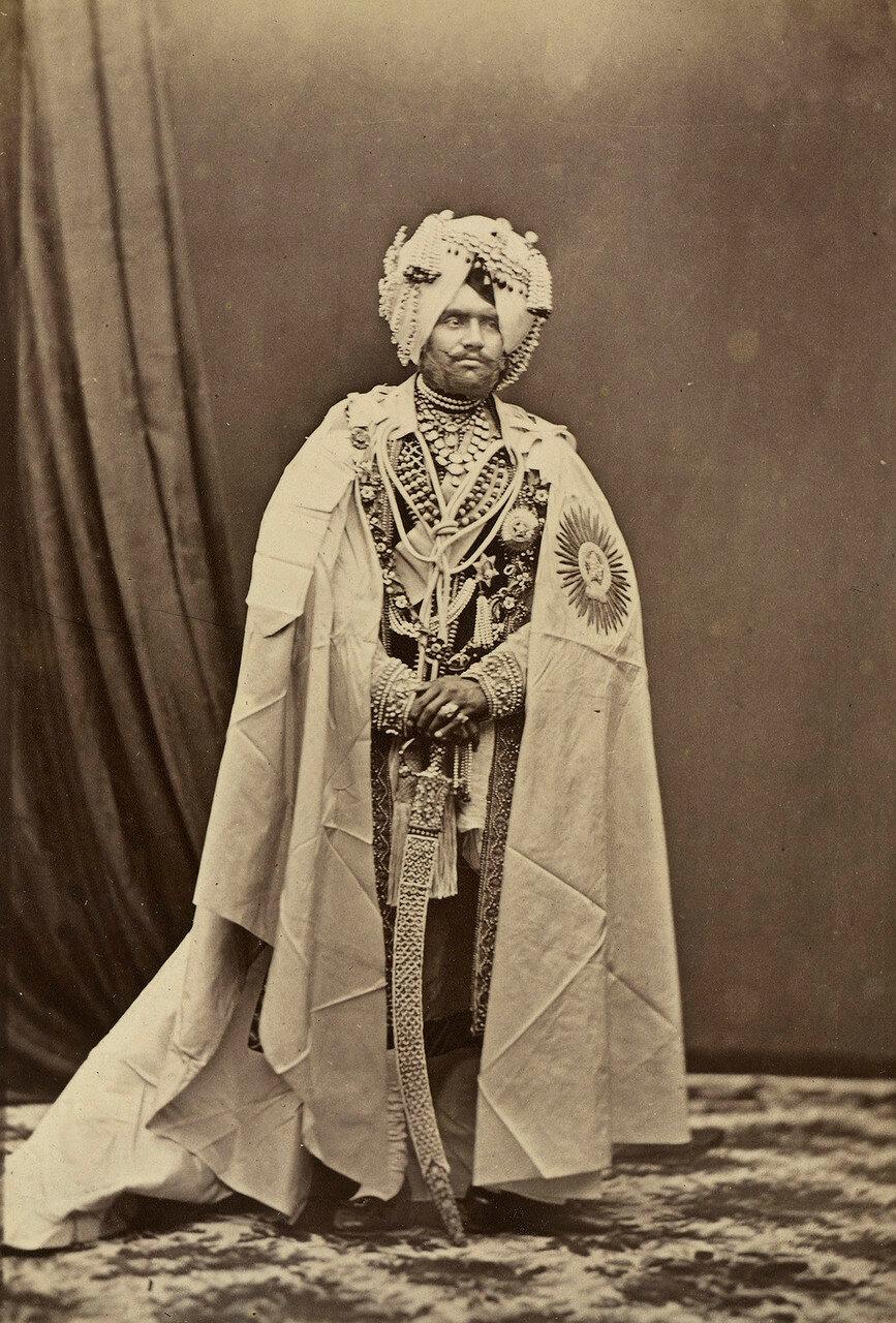 136. Махендра Сингх, Махараджа Патиала (1852-76)