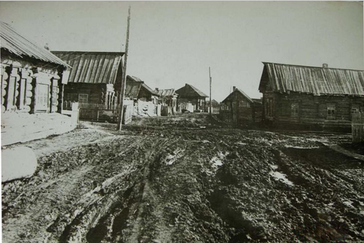 Деревенский переулок. Даурский район