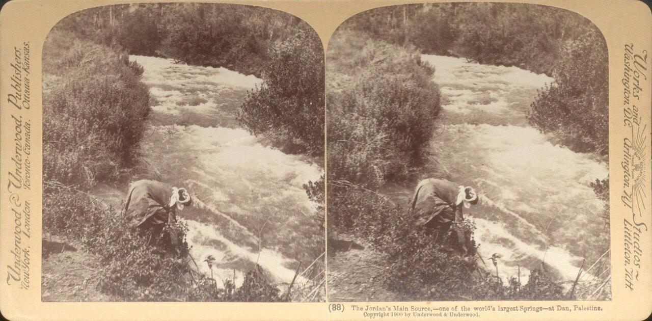 Река Иордан. 1900