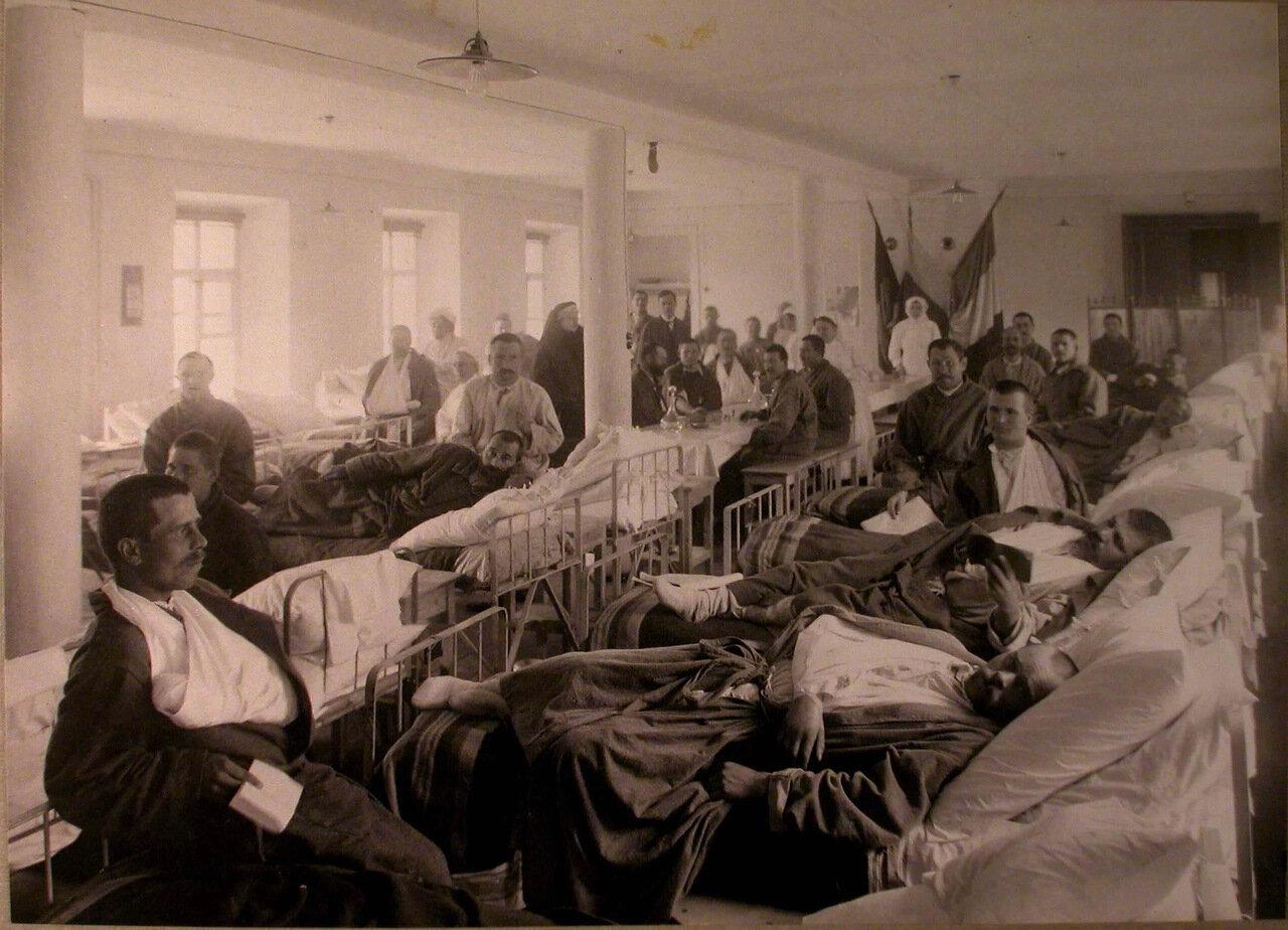 20. Раненые в палате французского госпиталя св.Екатерины