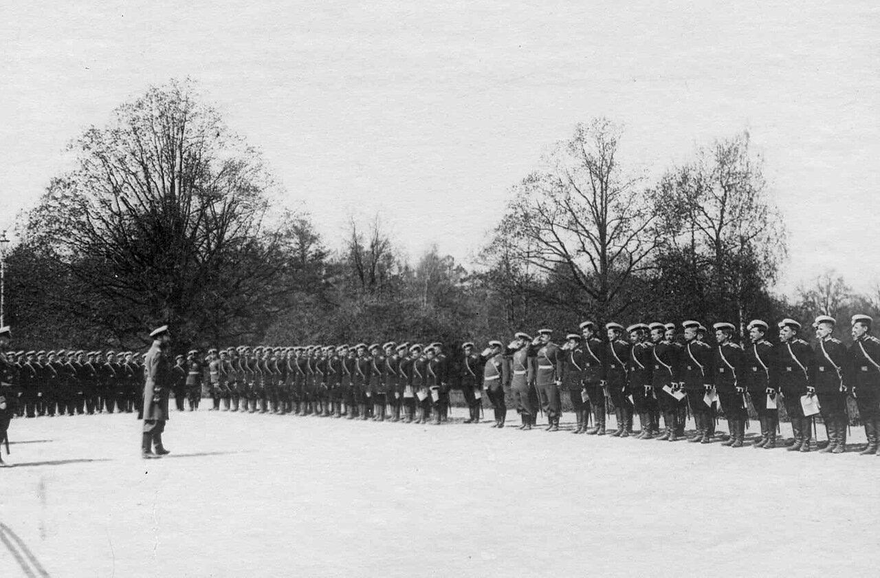 19. Прибытие императора Николая II к месту расположения войск, отправляемых на Дальний Восток. Харьков