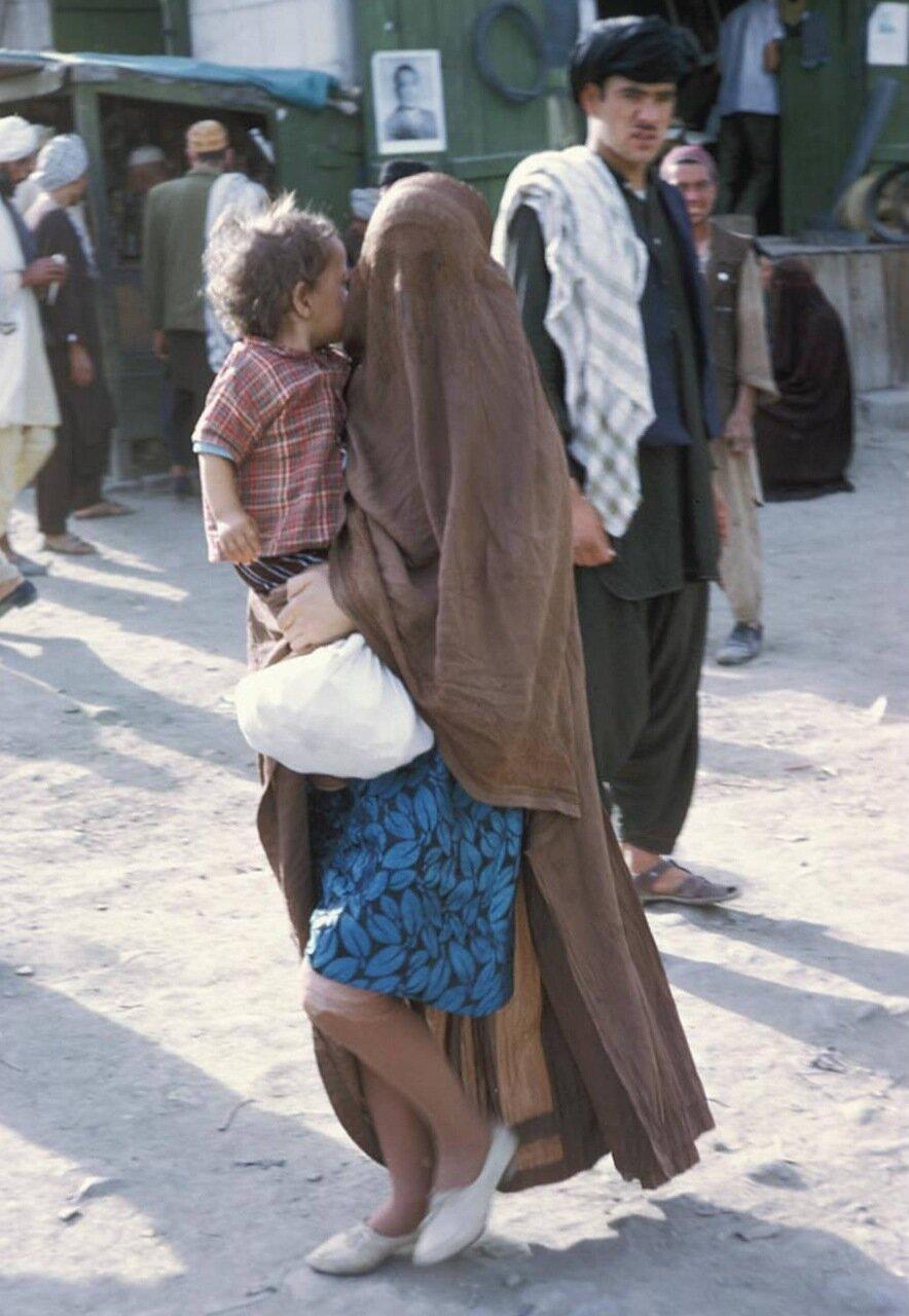 Мусульманка в традиционной одежде