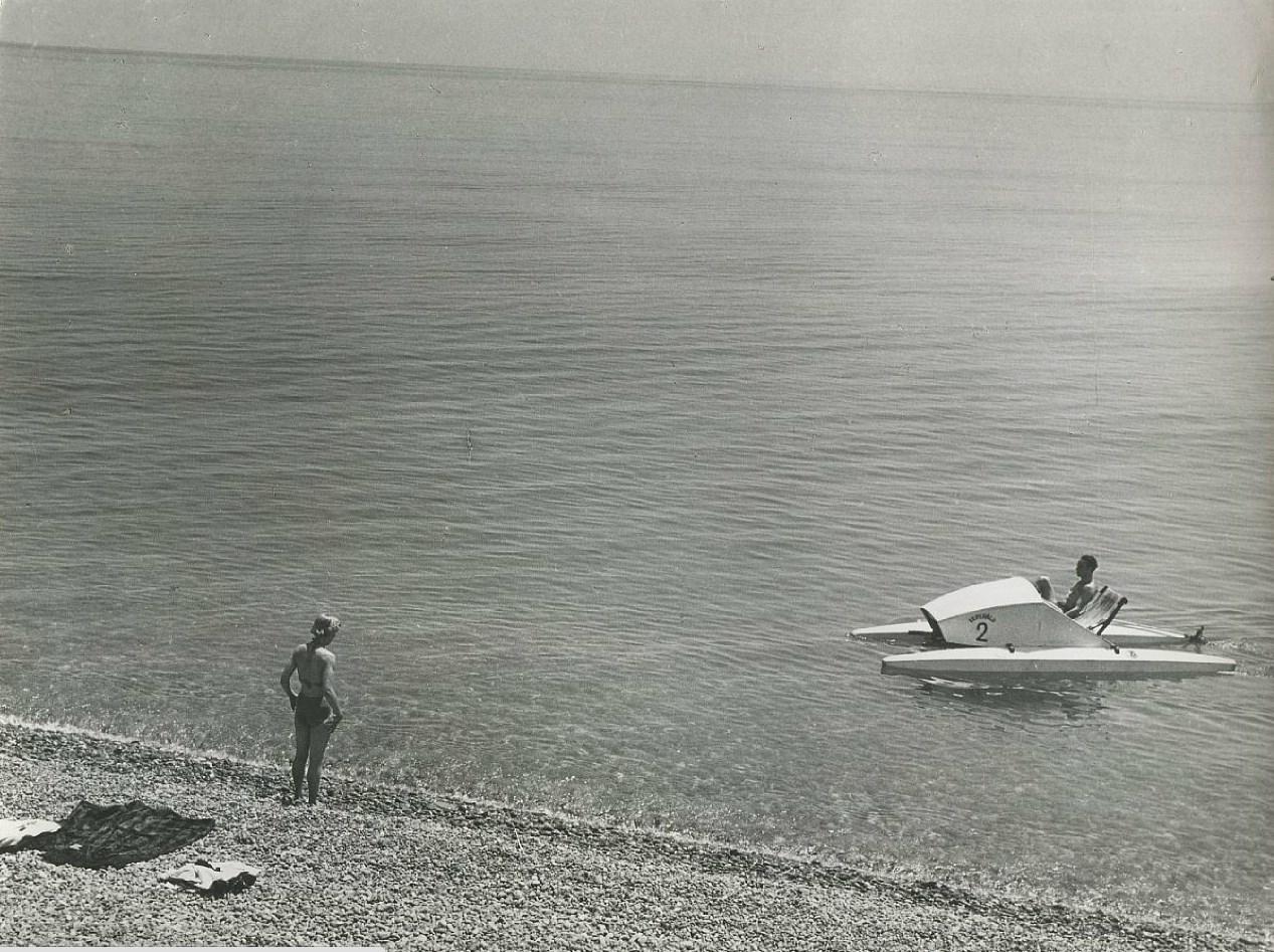 Пикап на пляже при помощи катамарана. Часть 1