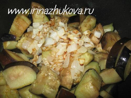 Как приготовить рагу из баклажанов фото и видео