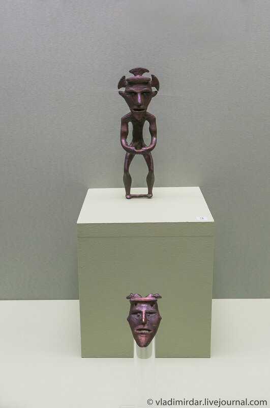 Идол. Медь. Галичский клад. Рубеж III-II тыс. до н.э. Костромская область.