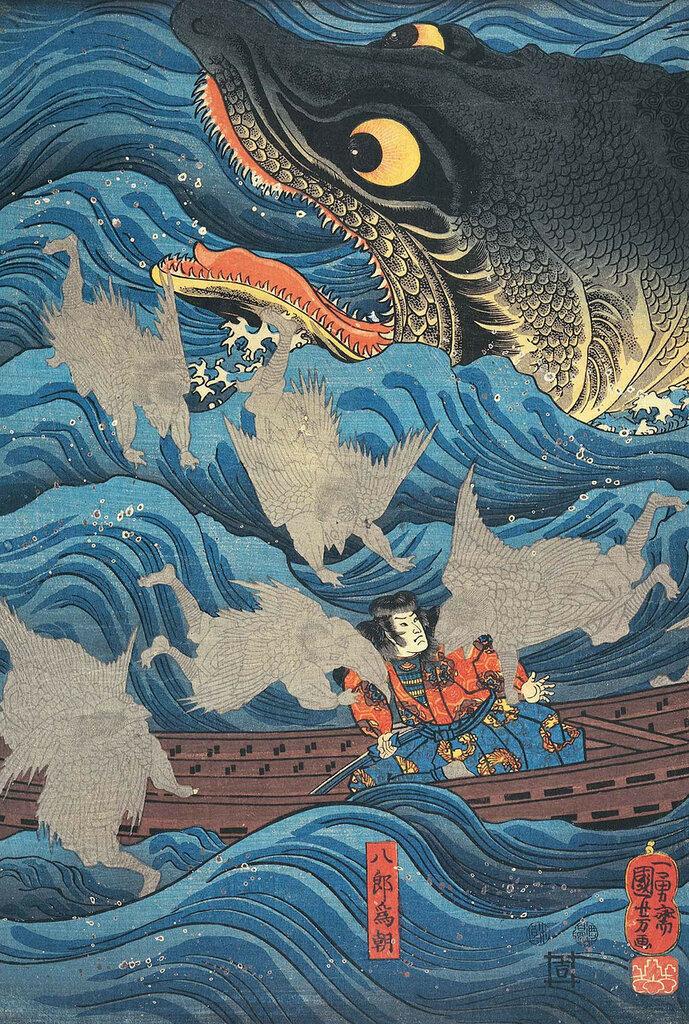 Woodblock print by Utagawa Kuniyoshi (1797-1861), Japan歌川 国芳.jpg