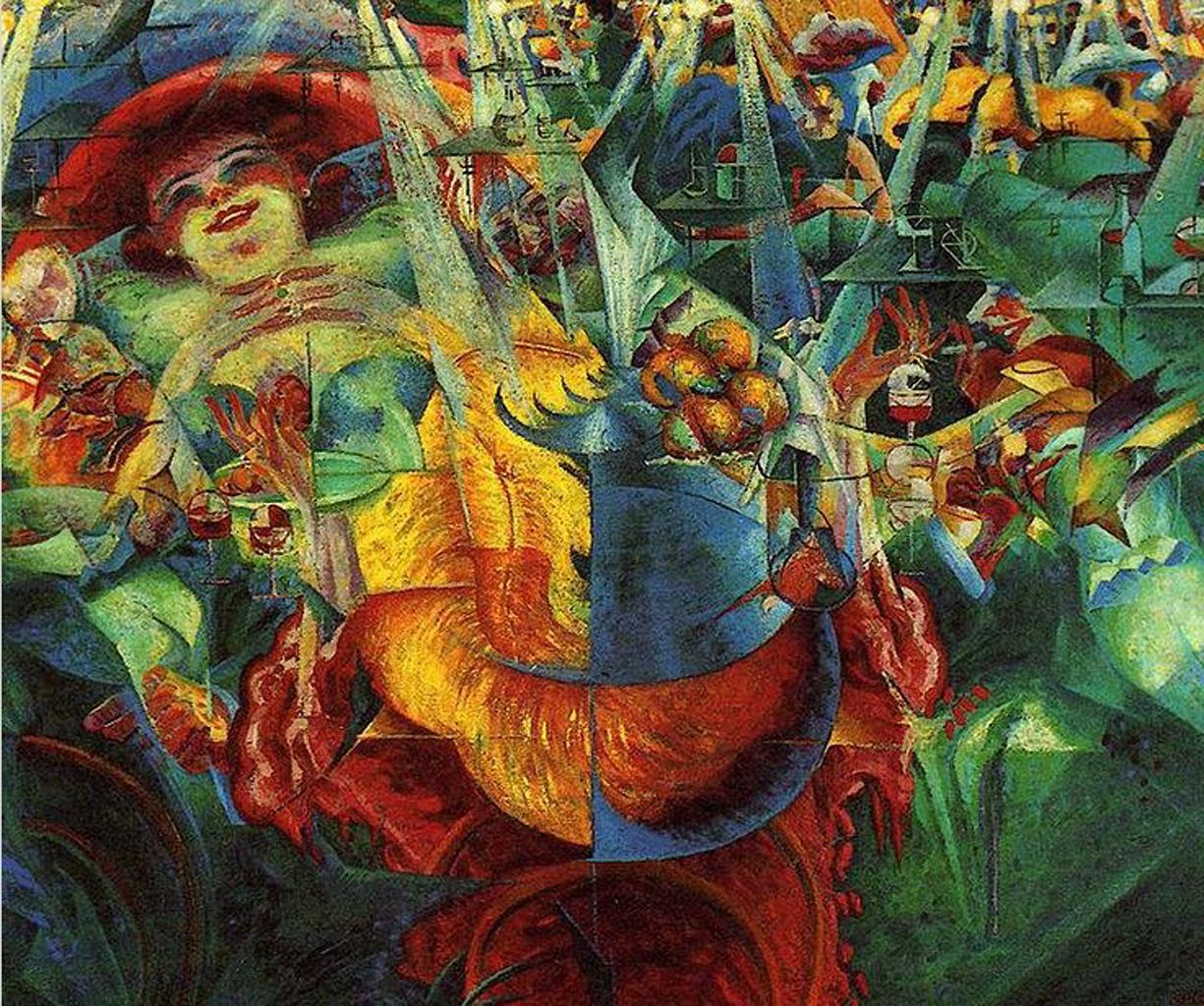 Laughter. 1911. Umberto Boccioni(1882-1916)  Futurism MoMA