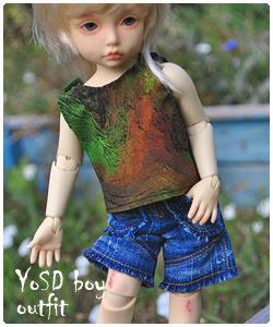 YoSD boy outfit
