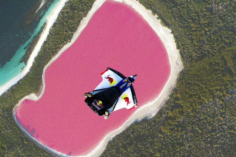 Розовое озеро в аликанте