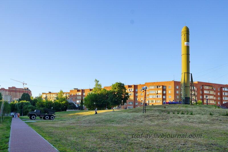 Мемориал создателям ракетного щита России, Дзержинский