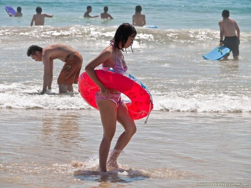 Особенности японского пляжного отдыха