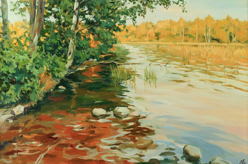 Святослав Новосадюк. Солнце на каменном озере.jpg