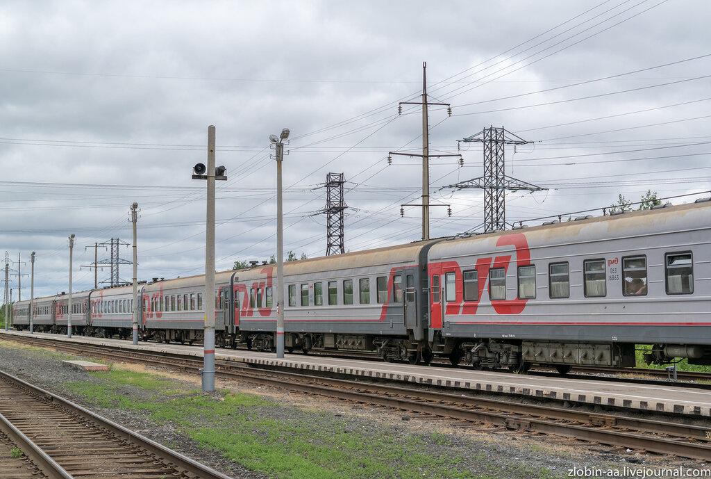Железнодорожный вокзал, г. Нижневартовск, ХМАО-Югра