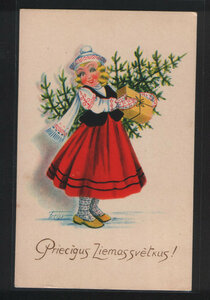 Поздравление с рождеством на латышском языке