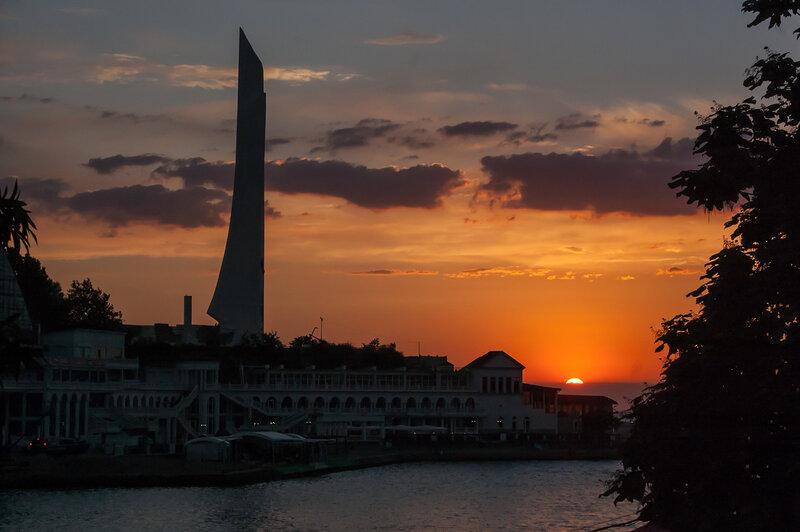 Крым Июль 2014. Парус, Сарыч, Никита