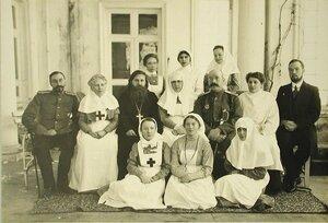 Группа медицинского персонала лазарета