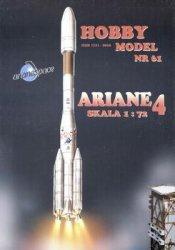 Журнал Hobby Model №61 - ракета-носитель Ariane 4, 1988