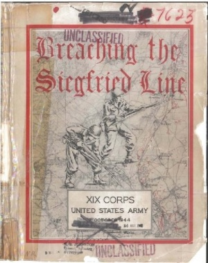 Книга Breaching the Siegfried Line