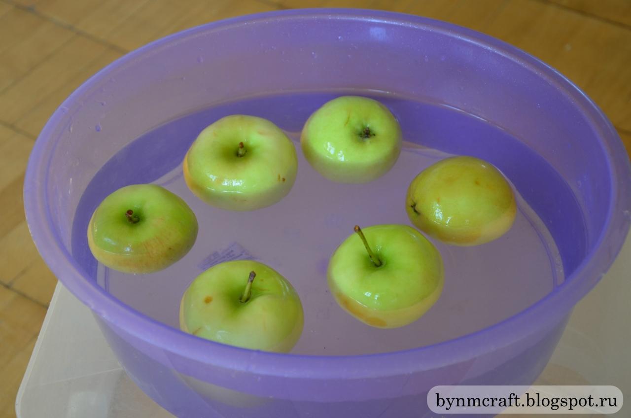 Игры для детей с яблоками. Штампы из яблок. Игры для развития детей.