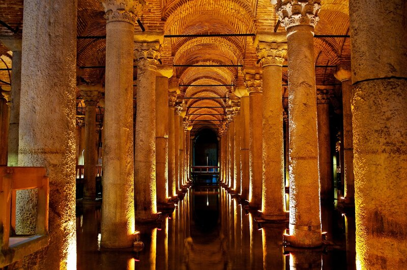 Стамбул. Базилика Цистерна.