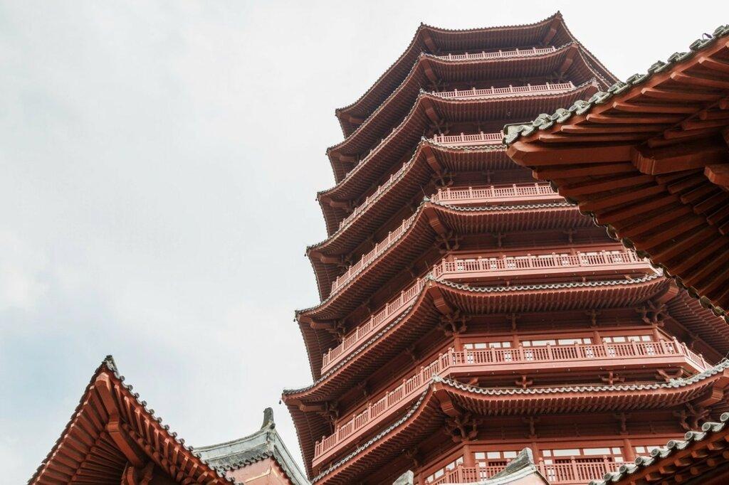 Пагода Юндин, Парк-выставка садов, Пекин