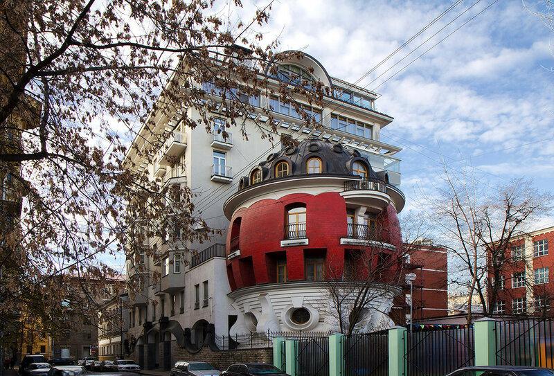 «Дом-Яйцо» на ул. Машкова