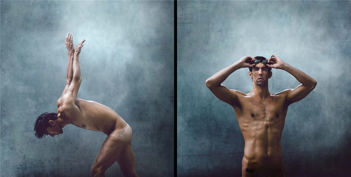 ESPN Magazine Body Issue 2014 - Michael Phelps / Майкл Фелпс