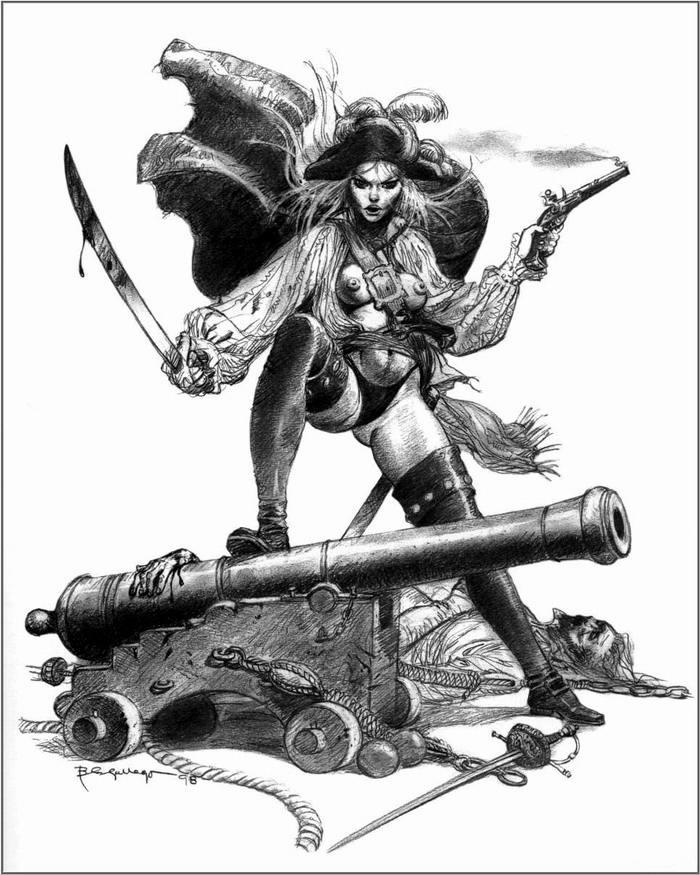 Графика: истории из жизни девушек - пираток (73)