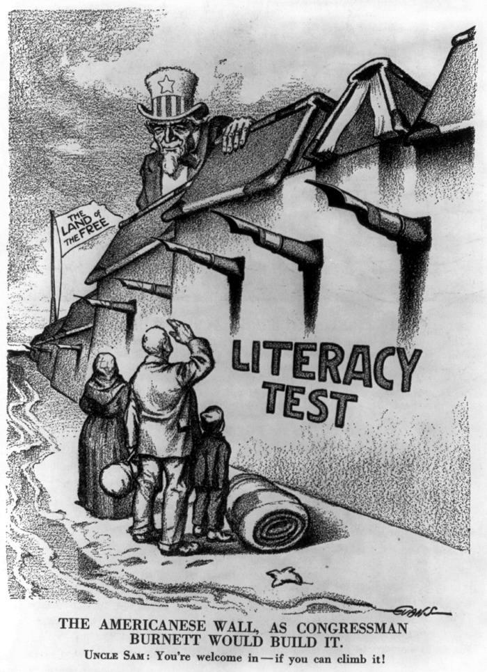 Американская стена: тест на грамотность