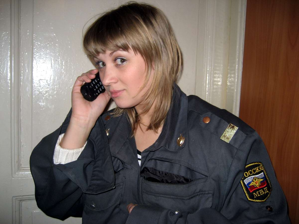 Русские менты девушки 4 фотография