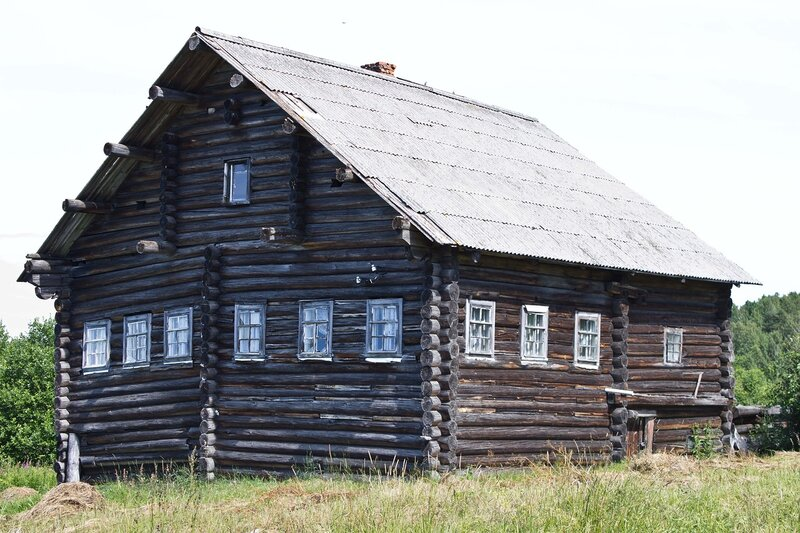 дом в деревне Ерши