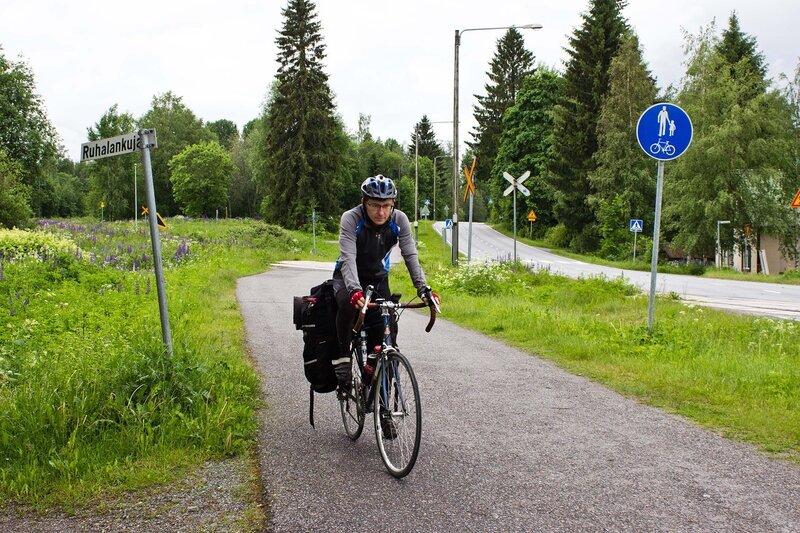 велодорожка в Отава (Otava)