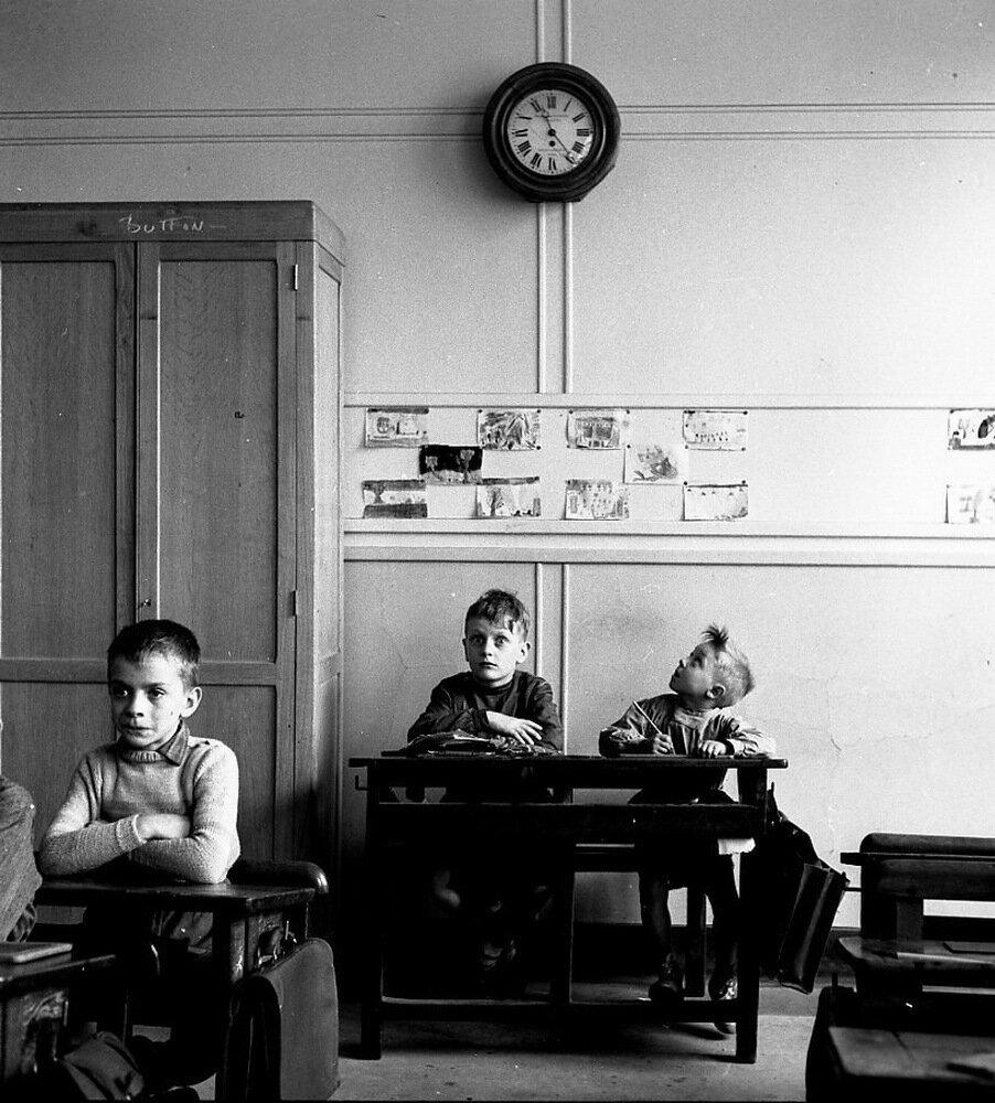1956. Школьные часы