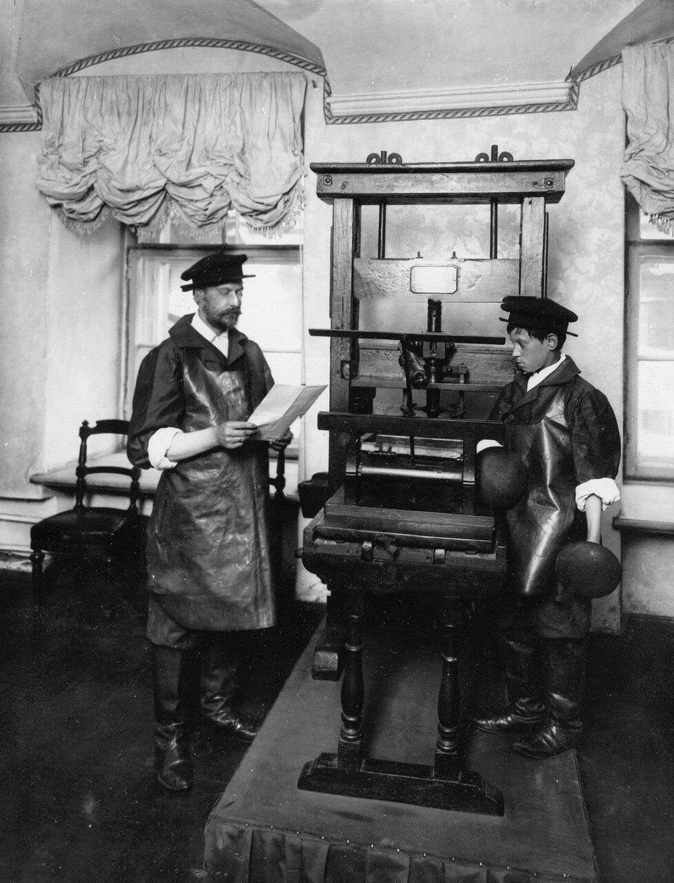 02. Печатный станок императора Петра I