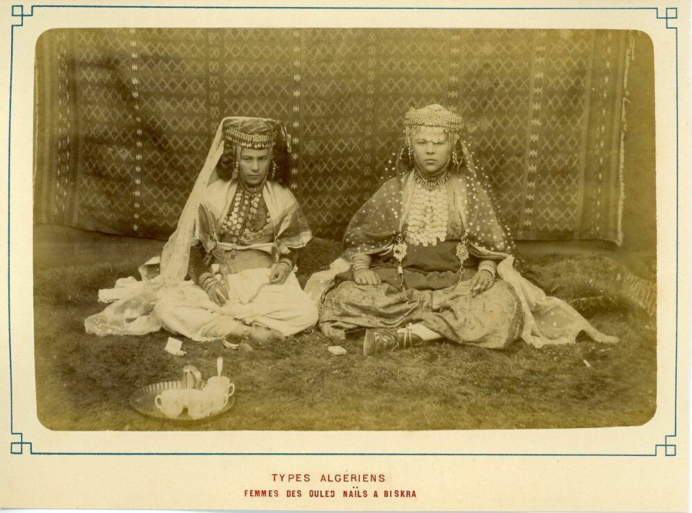 1900-е. Девушки из Вилид Найл. Бискра