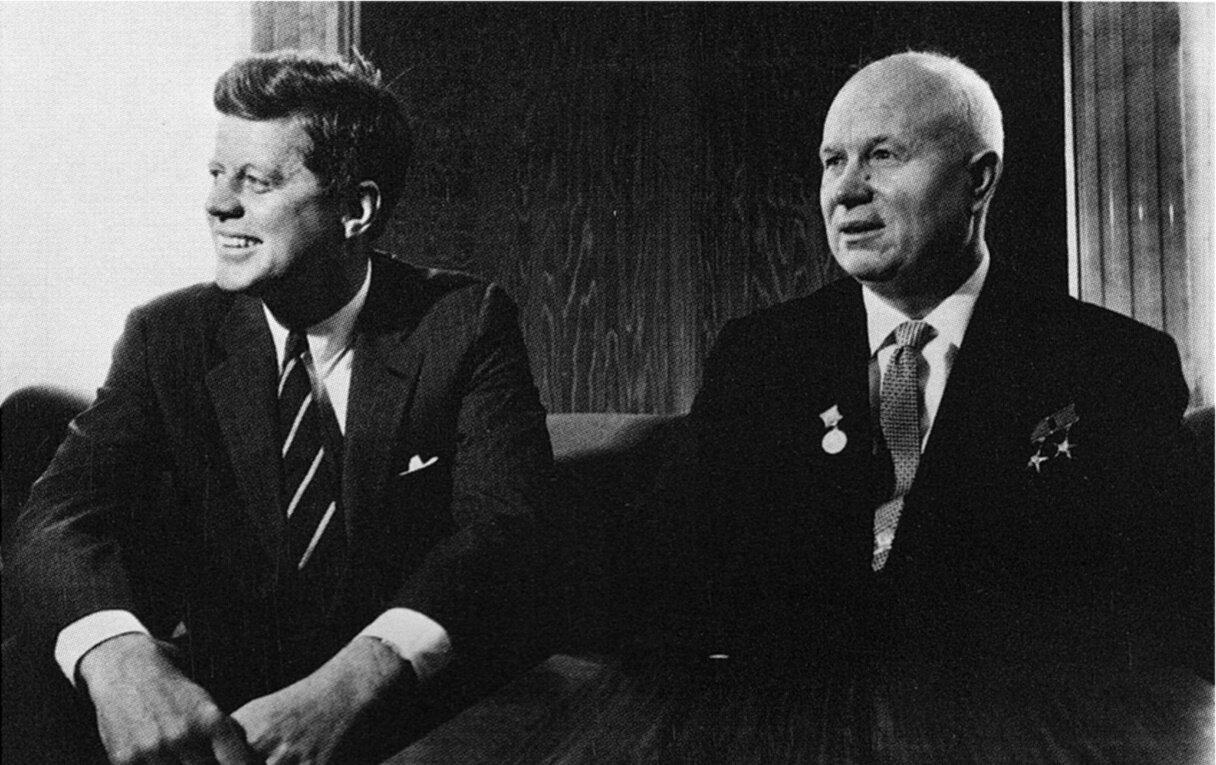 1961. Джон Ф. Кеннеди и Никита Хрущев. Встреча в Вене