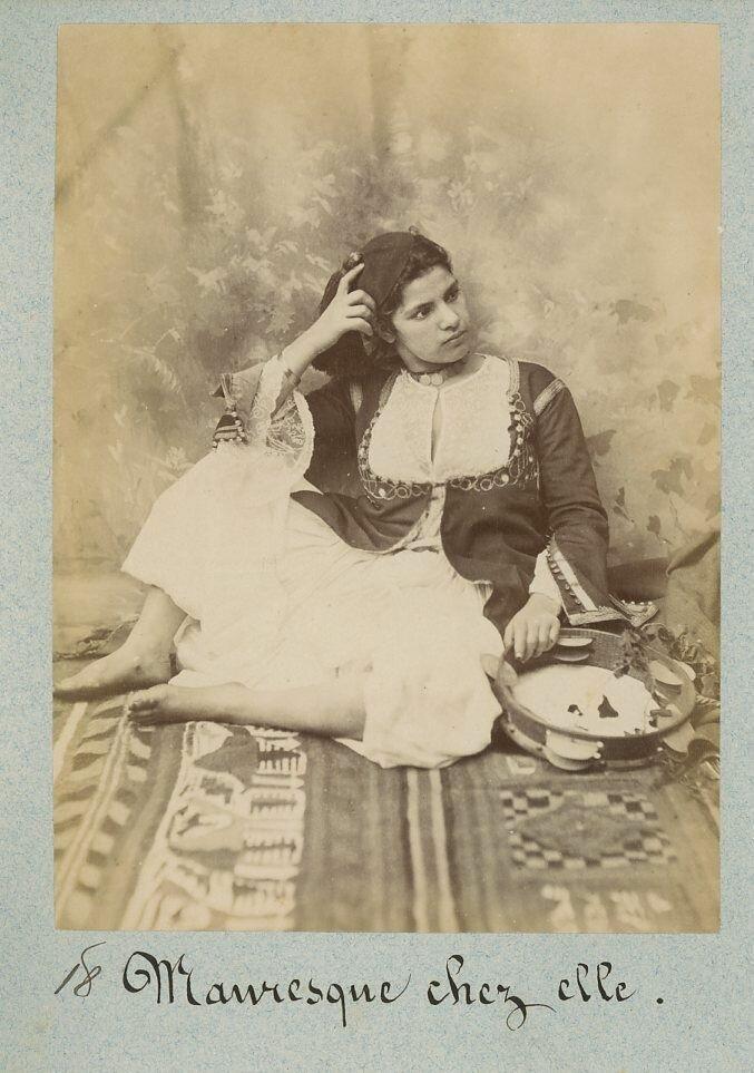 1880. Мавританка