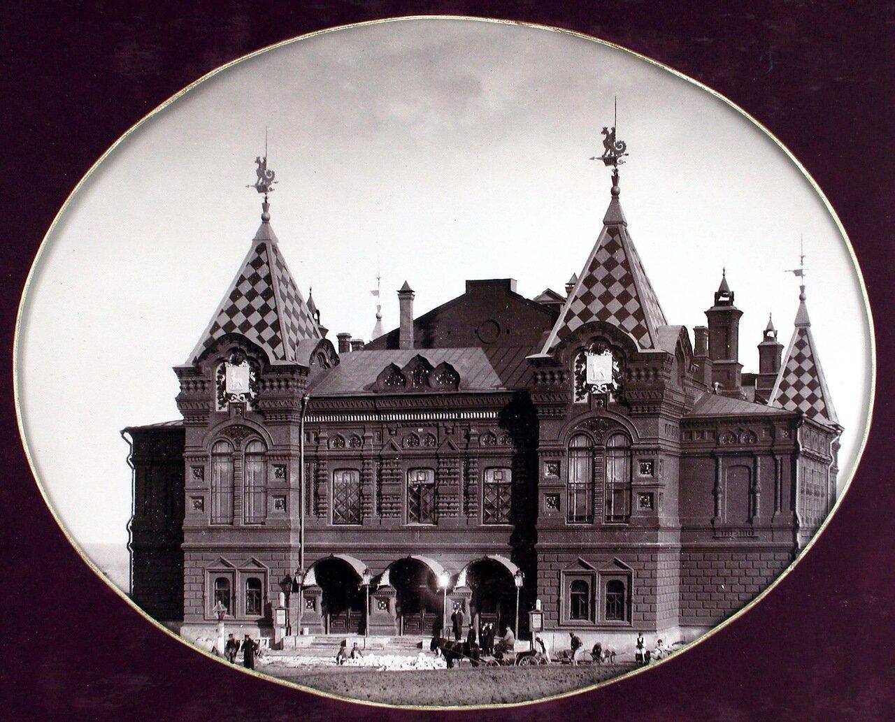 05. Общий вид здания городского театра