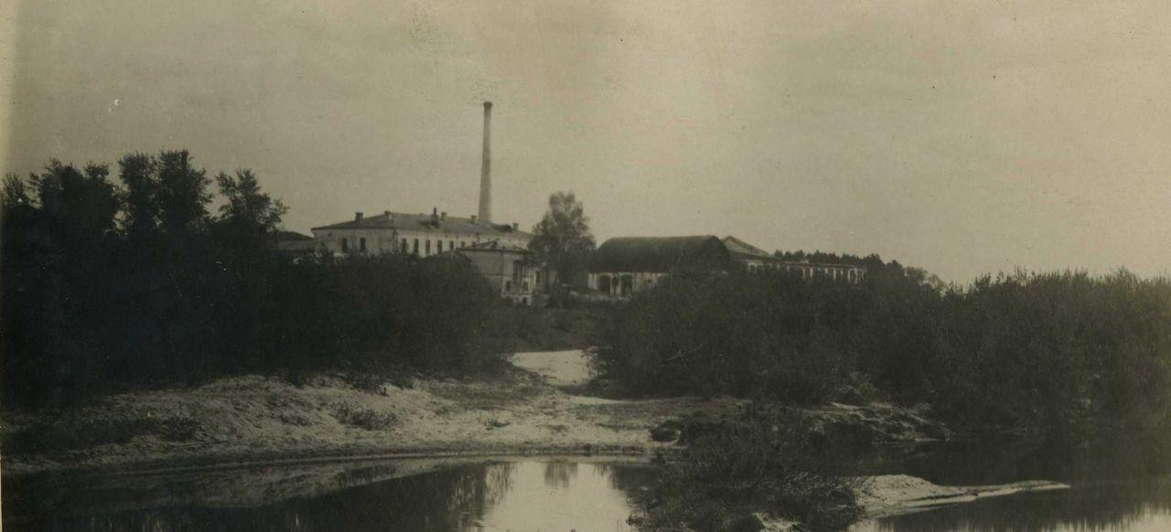 Вид на фабрику купцов Соловьевых