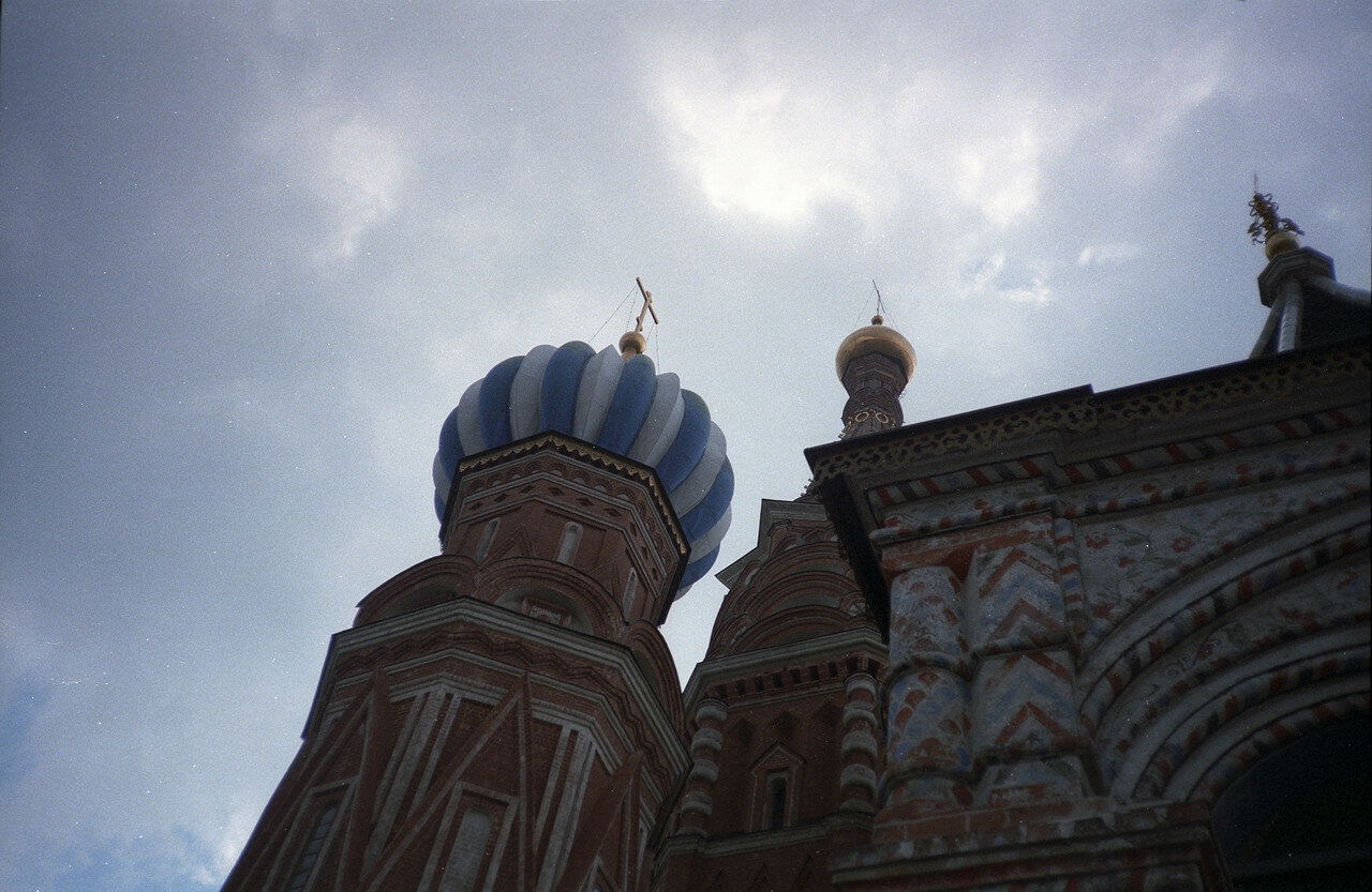 Собор Василия Блаженного (фрагмент)